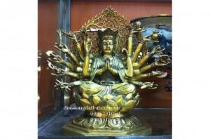 Phật chuẩn đề bằng đồng
