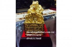 Ấn mạ vàng 24k