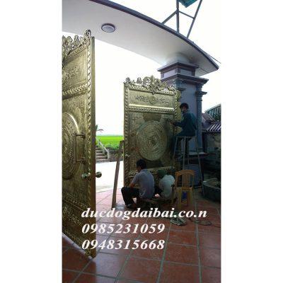 Cổng trang trí bằng đồng