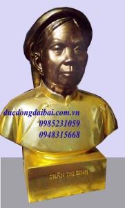 Đúc tượng mạ vàng chân dung theo yêu cầu