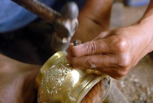 Cách thử đồ đồng