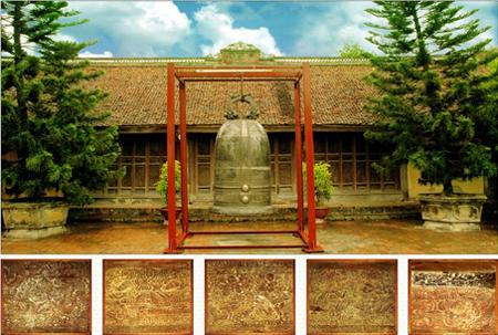 20 bức phù điêu ở chùa thái lạc