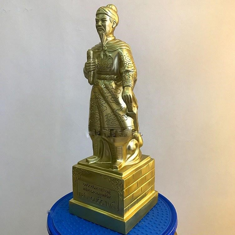 Bài trí tượng đồng Trần Hưng Đạo hợp phong thủy