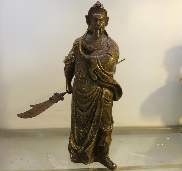 Ý nghĩa phong thủy của tượng đồng Quan Công